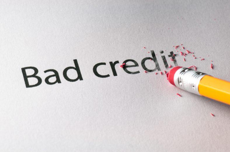 Erasing Bad Credit